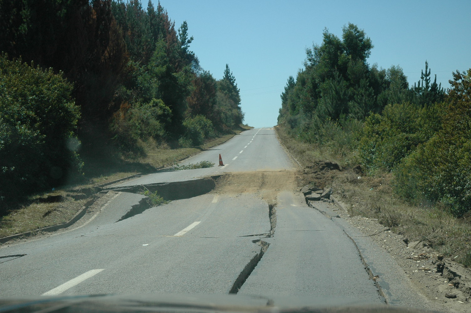 Earthquake Photos: The Long Road Home, Part One